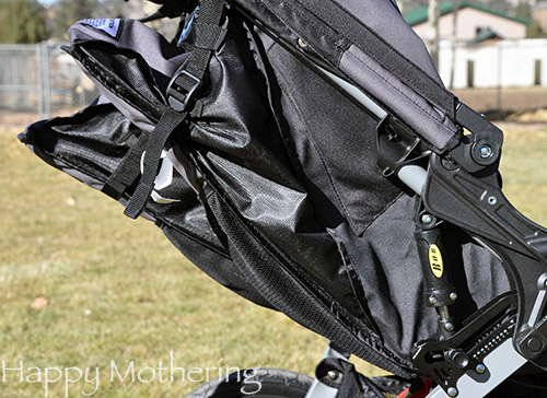 Seat reclines in the BOB Revolution Duallie Stroller